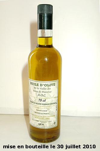 [VDS] Huile d'olive BIO extra vierge, qualité supérieure, 2010   18€ Aautre10
