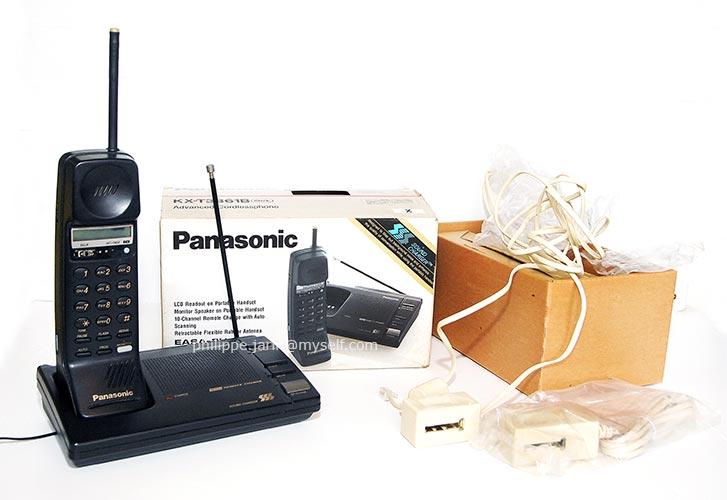 [VENDU] Téléphone fixe Panasonic PRO sans fil et main libre 28€ Panaso10