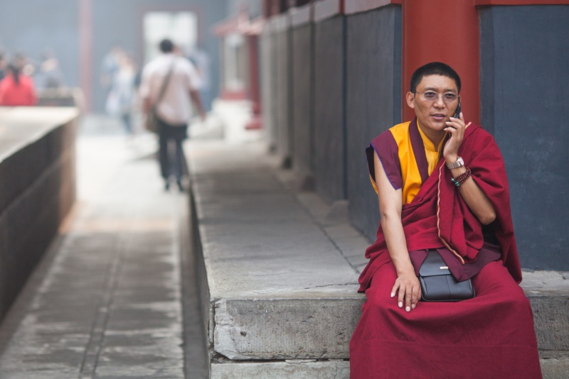 18 règles de vie du Dalaï Lama en reportage photo Partag10