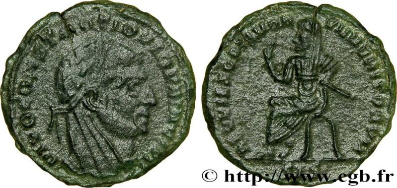 ½ Nummus de consécration (posthume) pour Constance Chlore Consta11