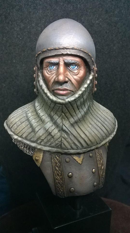 Buste de chevalier XIV Cheval10