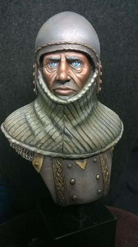Buste de chevalier XIV Cheval11