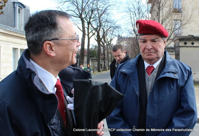 Reportage cérémonie d'hommage au lieutenant-colonel  LECOMTE, dernier chef de corps du 14ème RCP 02-img11
