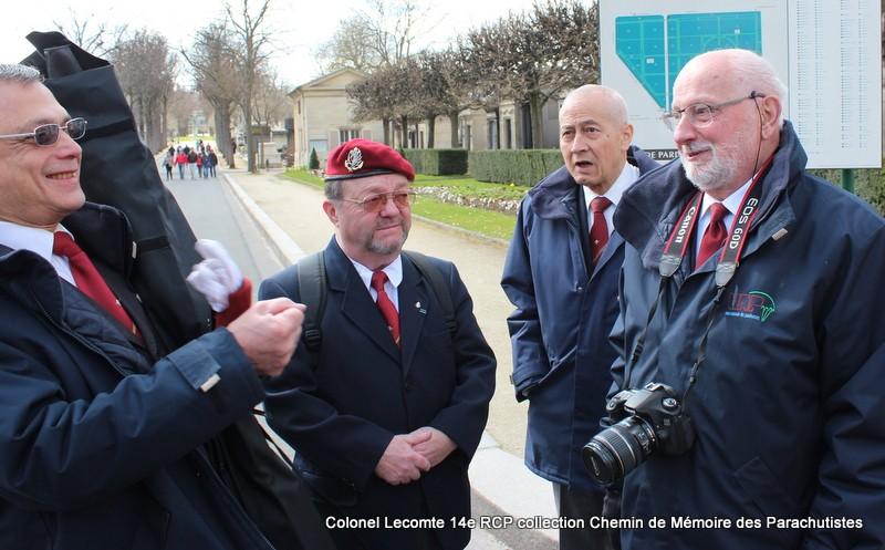 Reportage cérémonie d'hommage au lieutenant-colonel  LECOMTE, dernier chef de corps du 14ème RCP 04-img10