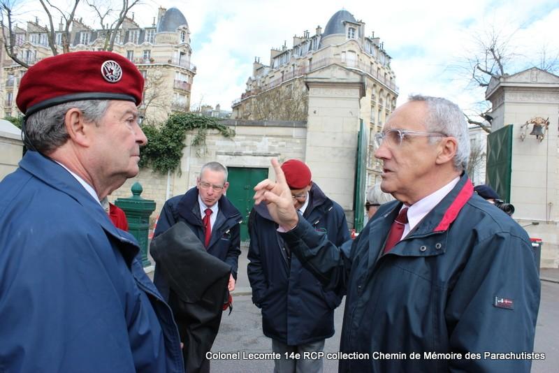 Reportage cérémonie d'hommage au lieutenant-colonel  LECOMTE, dernier chef de corps du 14ème RCP 05-img11