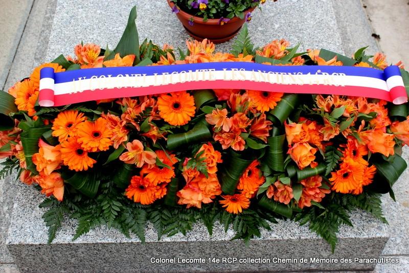 Reportage cérémonie d'hommage au lieutenant-colonel  LECOMTE, dernier chef de corps du 14ème RCP 13-img11