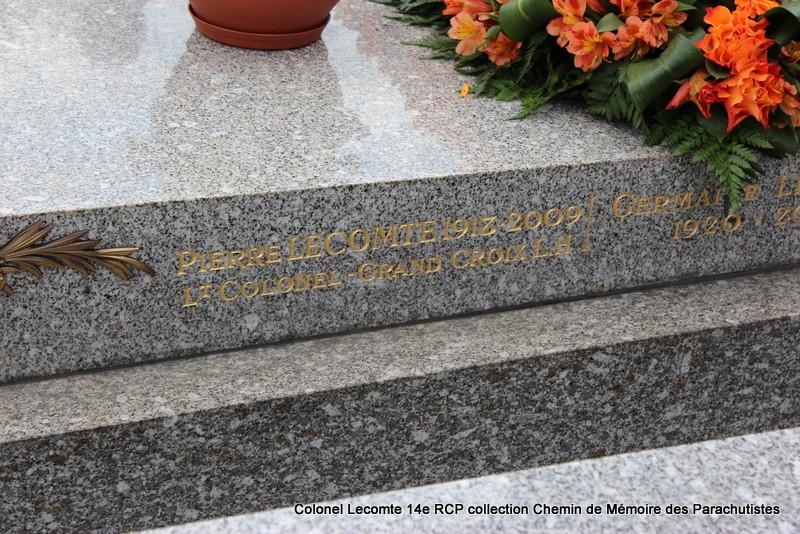 Reportage cérémonie d'hommage au lieutenant-colonel  LECOMTE, dernier chef de corps du 14ème RCP 15-img11