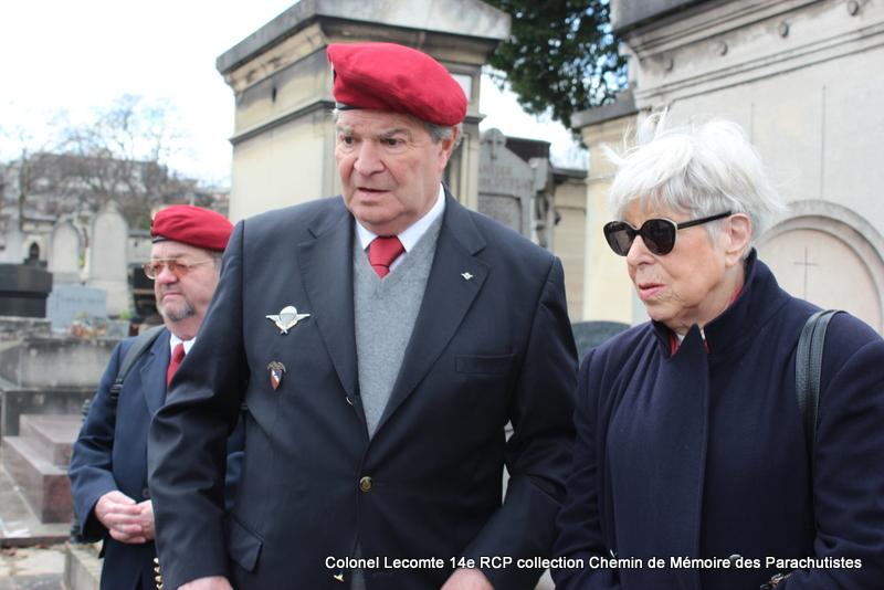 Reportage cérémonie d'hommage au lieutenant-colonel  LECOMTE, dernier chef de corps du 14ème RCP 18-img11