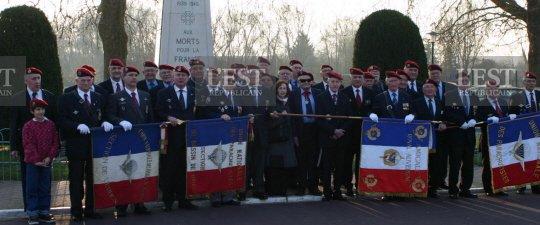 Rencontre - Les anciens du 18e RCP se retrouvent à Verdun, parce que le régiment y a combattu L'Amicale du Royal Auvergne en pèlerinage 18e_rc10