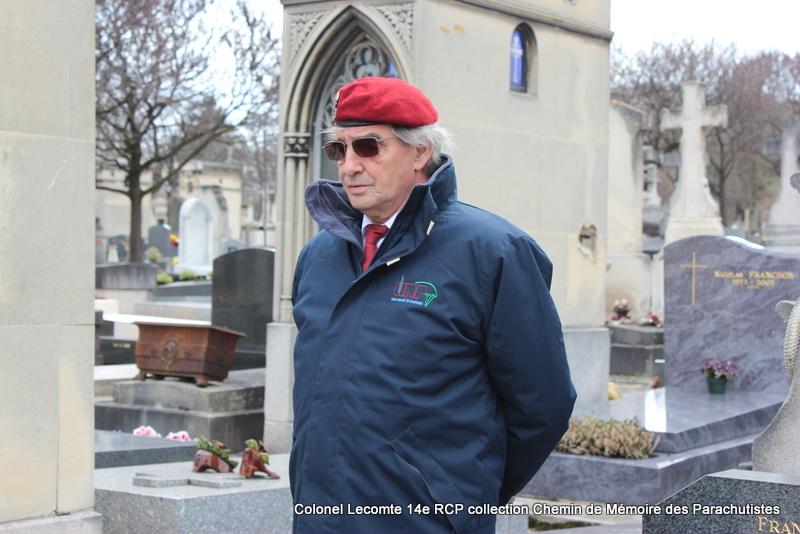 Reportage cérémonie d'hommage au lieutenant-colonel  LECOMTE, dernier chef de corps du 14ème RCP 19-img11