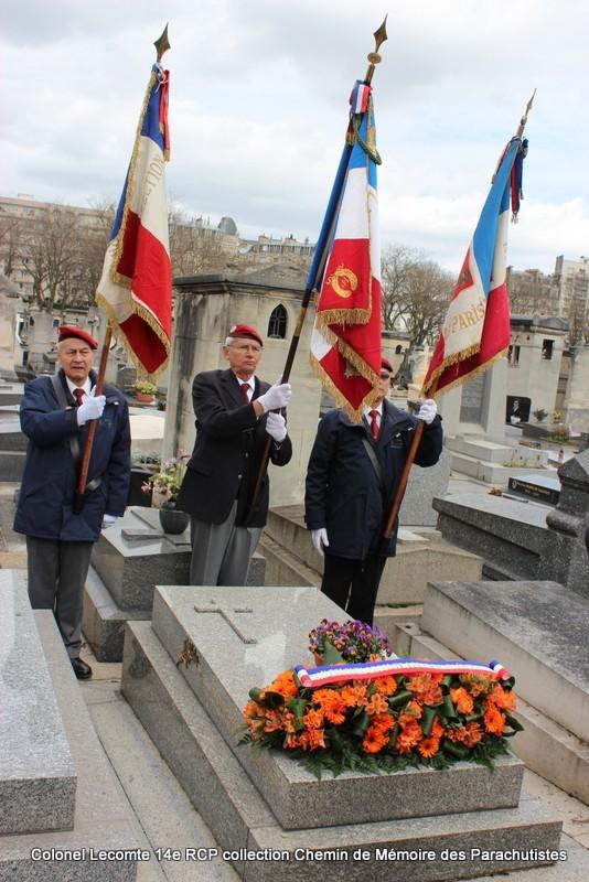 Reportage cérémonie d'hommage au lieutenant-colonel  LECOMTE, dernier chef de corps du 14ème RCP 21-img10