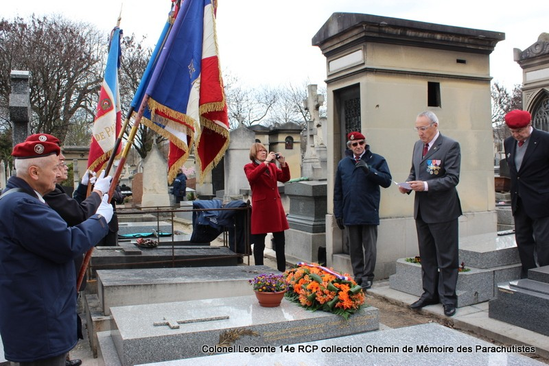 Reportage cérémonie d'hommage au lieutenant-colonel  LECOMTE, dernier chef de corps du 14ème RCP 22-img10