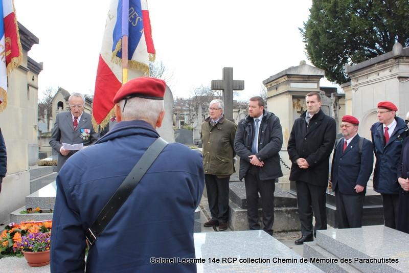 Reportage cérémonie d'hommage au lieutenant-colonel  LECOMTE, dernier chef de corps du 14ème RCP 23-img10