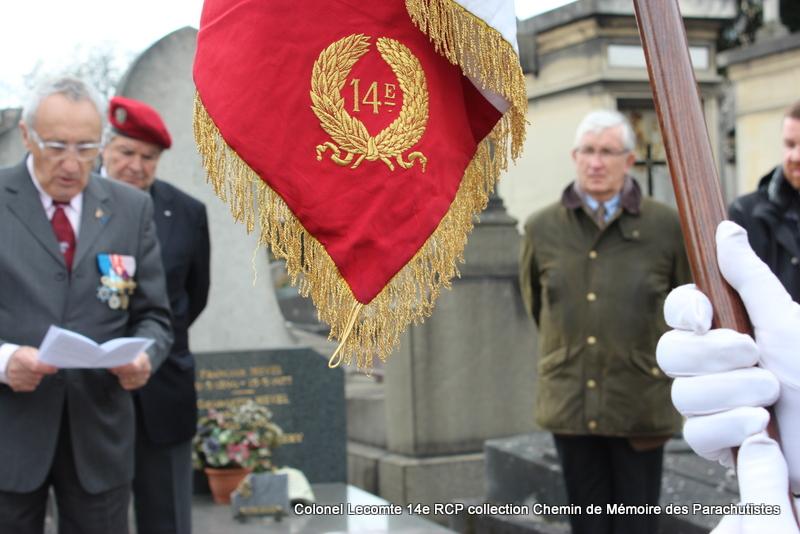 Reportage cérémonie d'hommage au lieutenant-colonel  LECOMTE, dernier chef de corps du 14ème RCP 24-img11