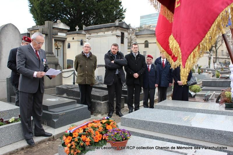 Reportage cérémonie d'hommage au lieutenant-colonel  LECOMTE, dernier chef de corps du 14ème RCP 25-img11