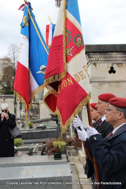 Reportage cérémonie d'hommage au lieutenant-colonel  LECOMTE, dernier chef de corps du 14ème RCP 26-img12