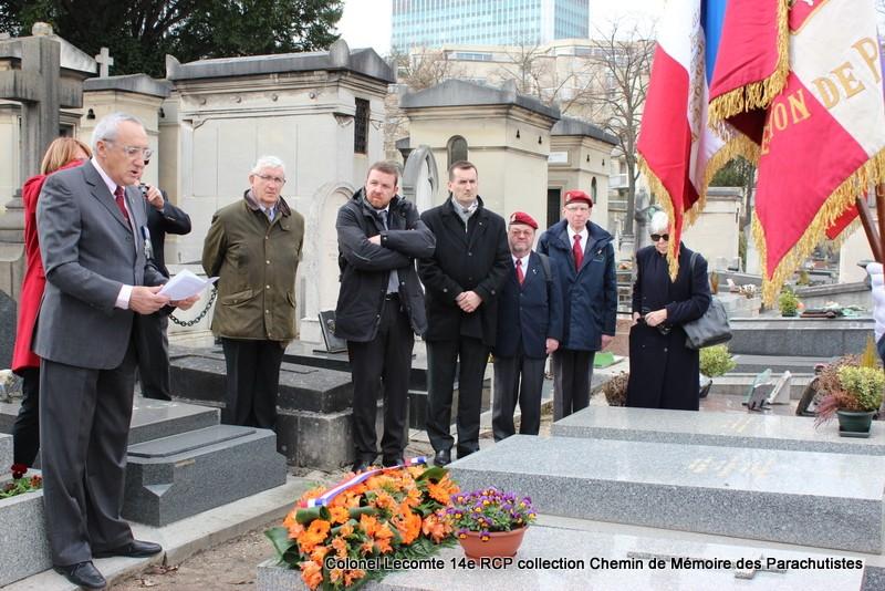 Reportage cérémonie d'hommage au lieutenant-colonel  LECOMTE, dernier chef de corps du 14ème RCP 27-img13