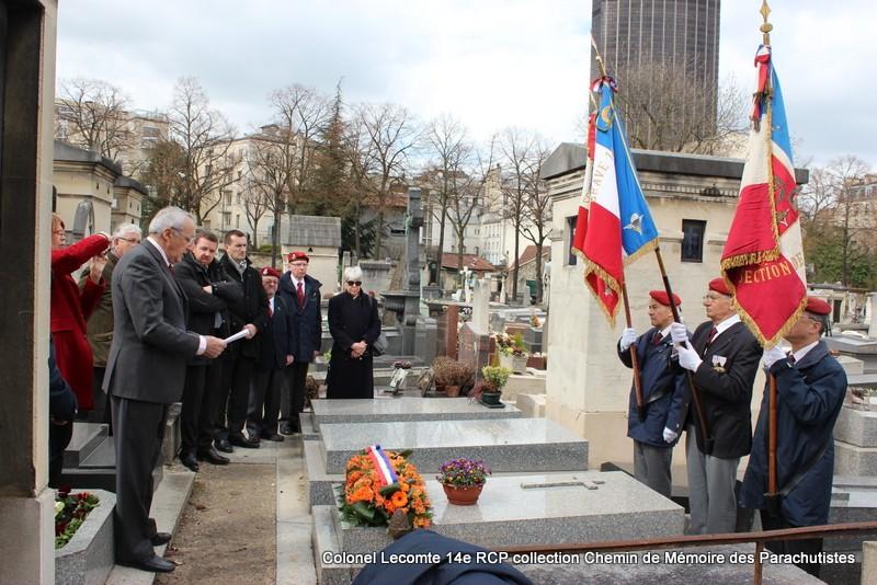 Reportage cérémonie d'hommage au lieutenant-colonel  LECOMTE, dernier chef de corps du 14ème RCP 28-img12