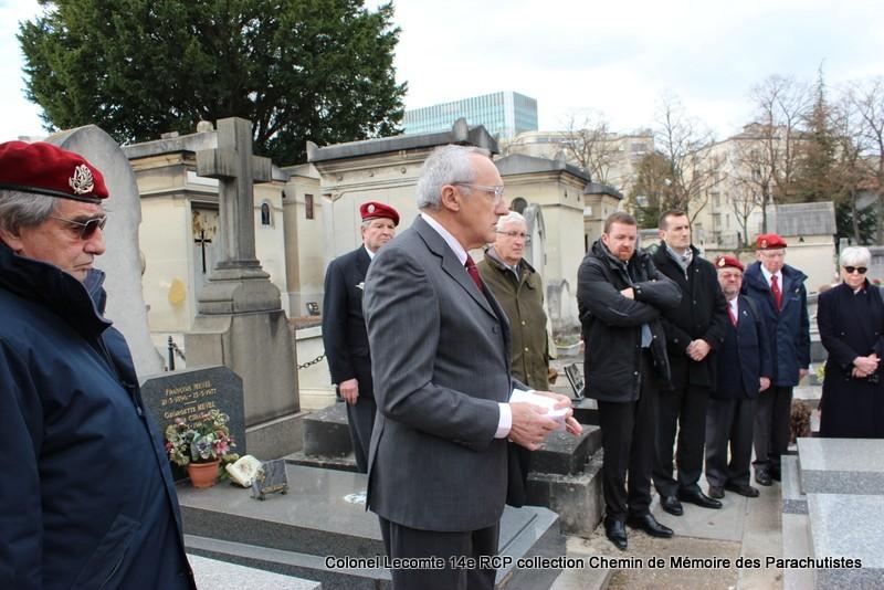Reportage cérémonie d'hommage au lieutenant-colonel  LECOMTE, dernier chef de corps du 14ème RCP 31-img12