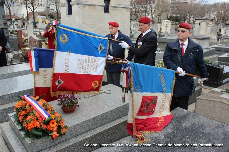 Reportage cérémonie d'hommage au lieutenant-colonel  LECOMTE, dernier chef de corps du 14ème RCP 32-img10