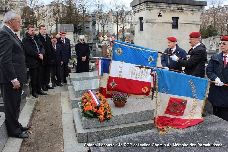 Reportage cérémonie d'hommage au lieutenant-colonel  LECOMTE, dernier chef de corps du 14ème RCP 33-img11