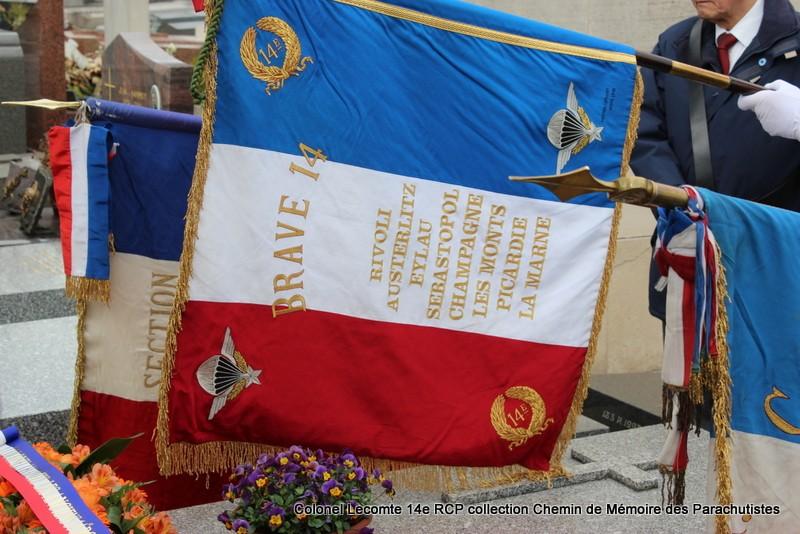 Reportage cérémonie d'hommage au lieutenant-colonel  LECOMTE, dernier chef de corps du 14ème RCP 34-img11