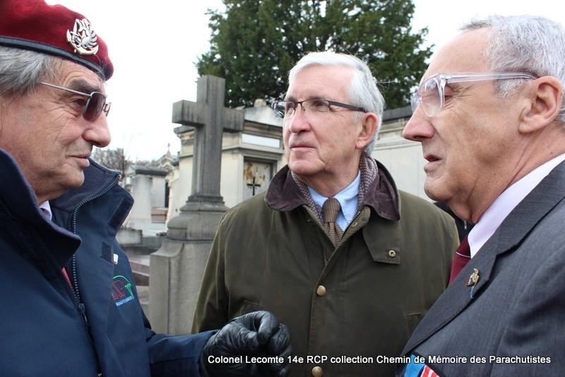 Reportage cérémonie d'hommage au lieutenant-colonel  LECOMTE, dernier chef de corps du 14ème RCP 38-img10