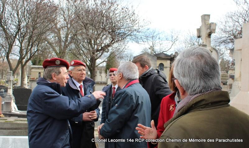 Reportage cérémonie d'hommage au lieutenant-colonel  LECOMTE, dernier chef de corps du 14ème RCP 39-img10
