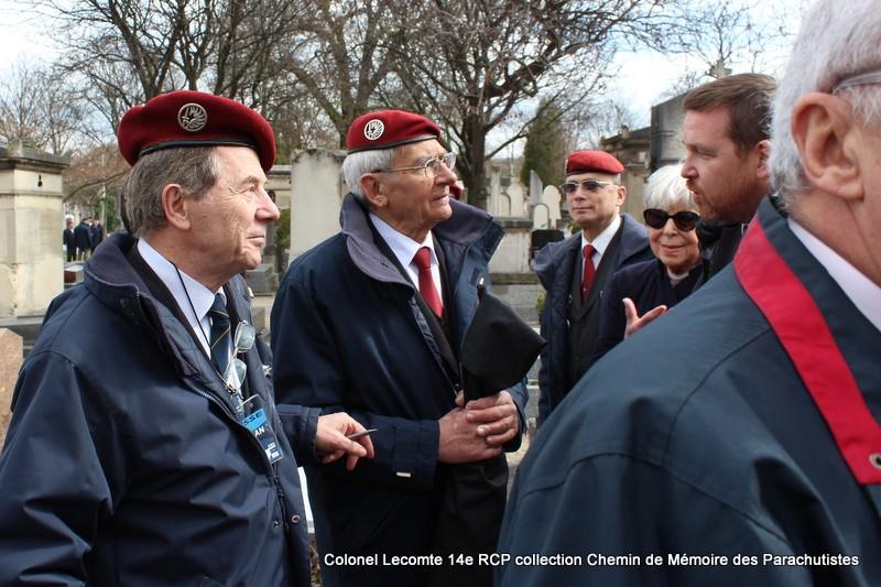 Reportage cérémonie d'hommage au lieutenant-colonel  LECOMTE, dernier chef de corps du 14ème RCP 42-img11