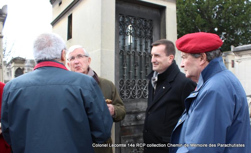 Reportage cérémonie d'hommage au lieutenant-colonel  LECOMTE, dernier chef de corps du 14ème RCP 43-img10