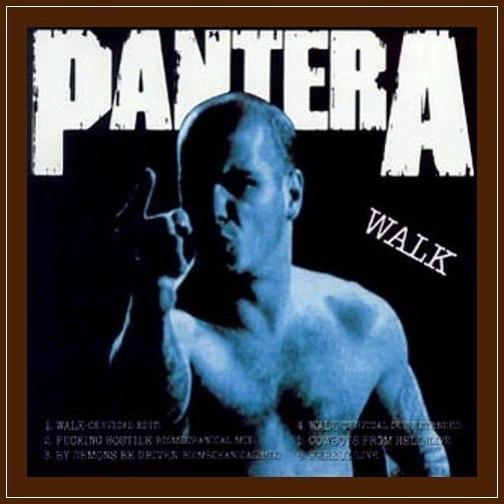 Pantera - Walk (1993) EP 11122610