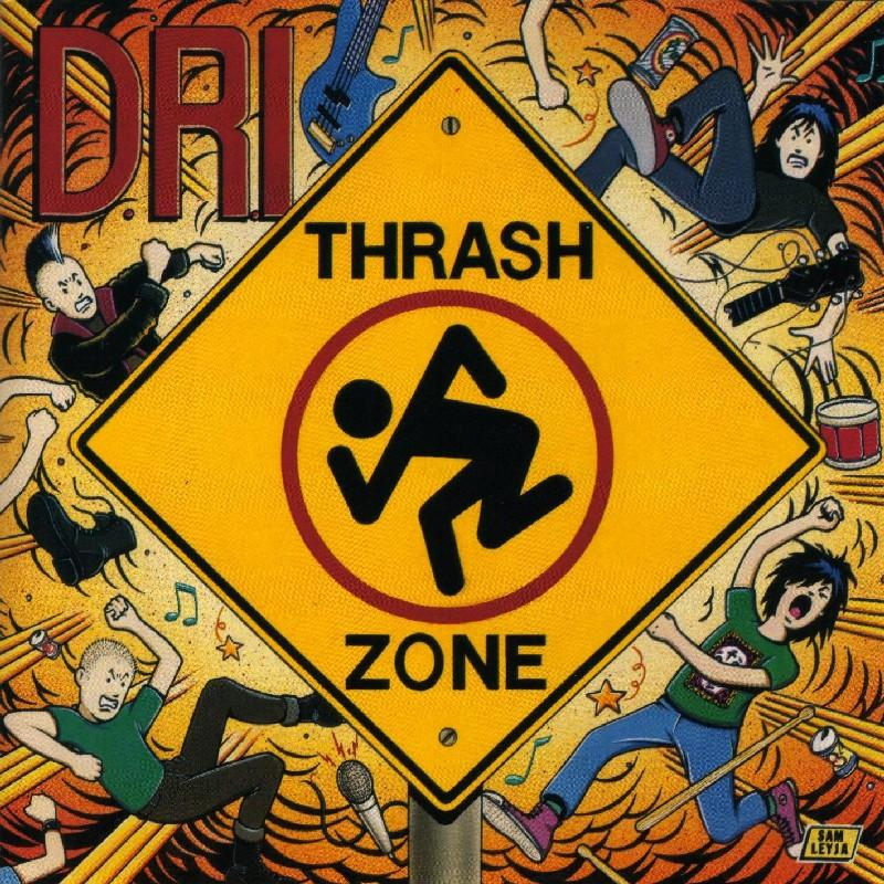 D.R.I. - Thash zone (1989) D_r_i_10