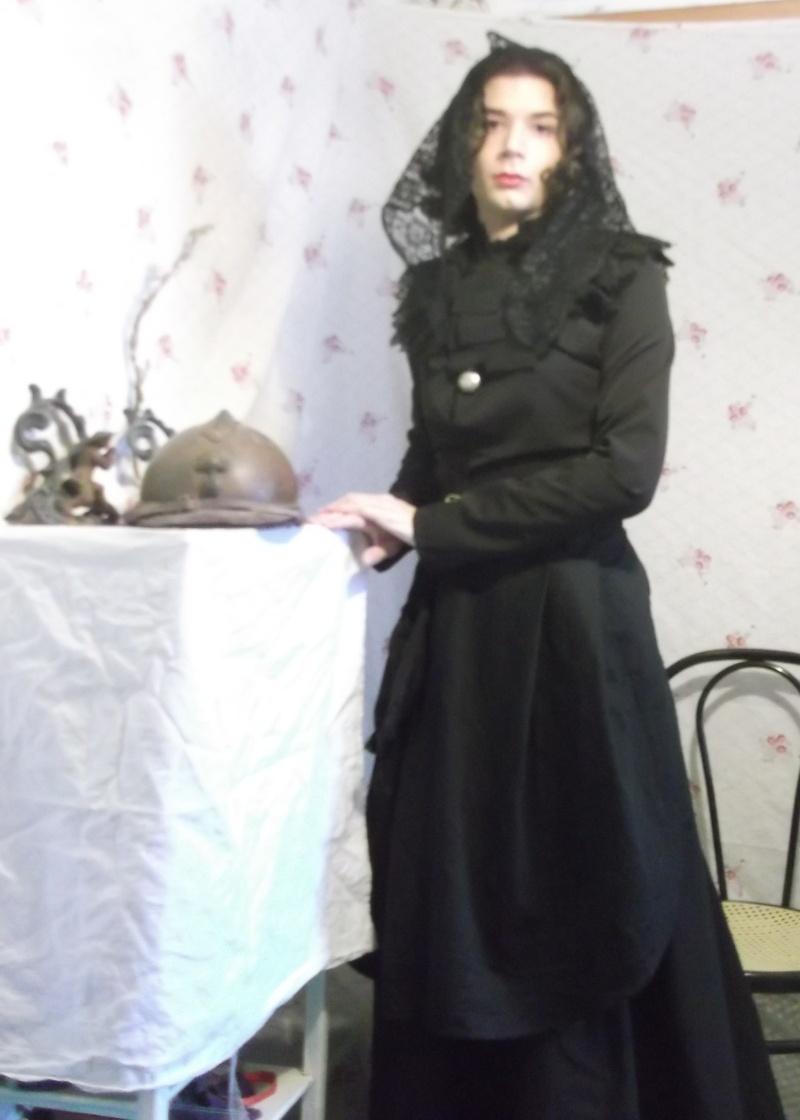 [1914-1918] Tenue de veuve Dscf9910