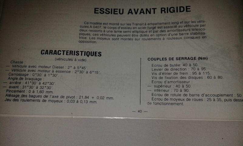 [MK3] TRANSIT TRIBENNE DE 1991 MK3 A REPARER - Page 7 20150316