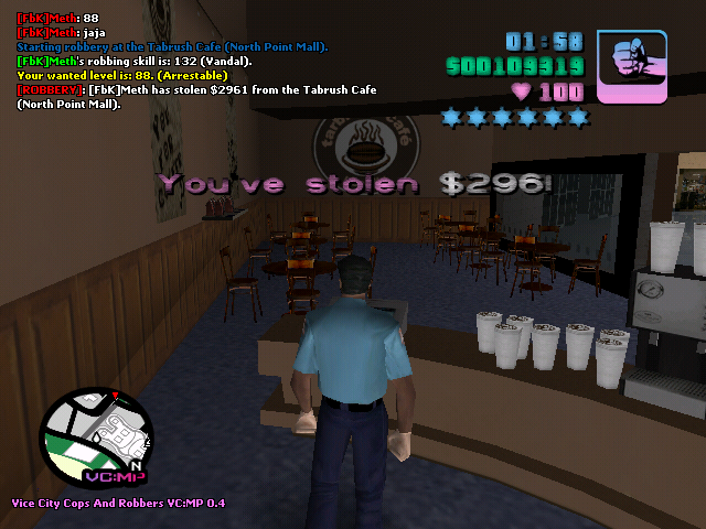 Meth Pro en Vice City Cops And Robbers :v Fbk10