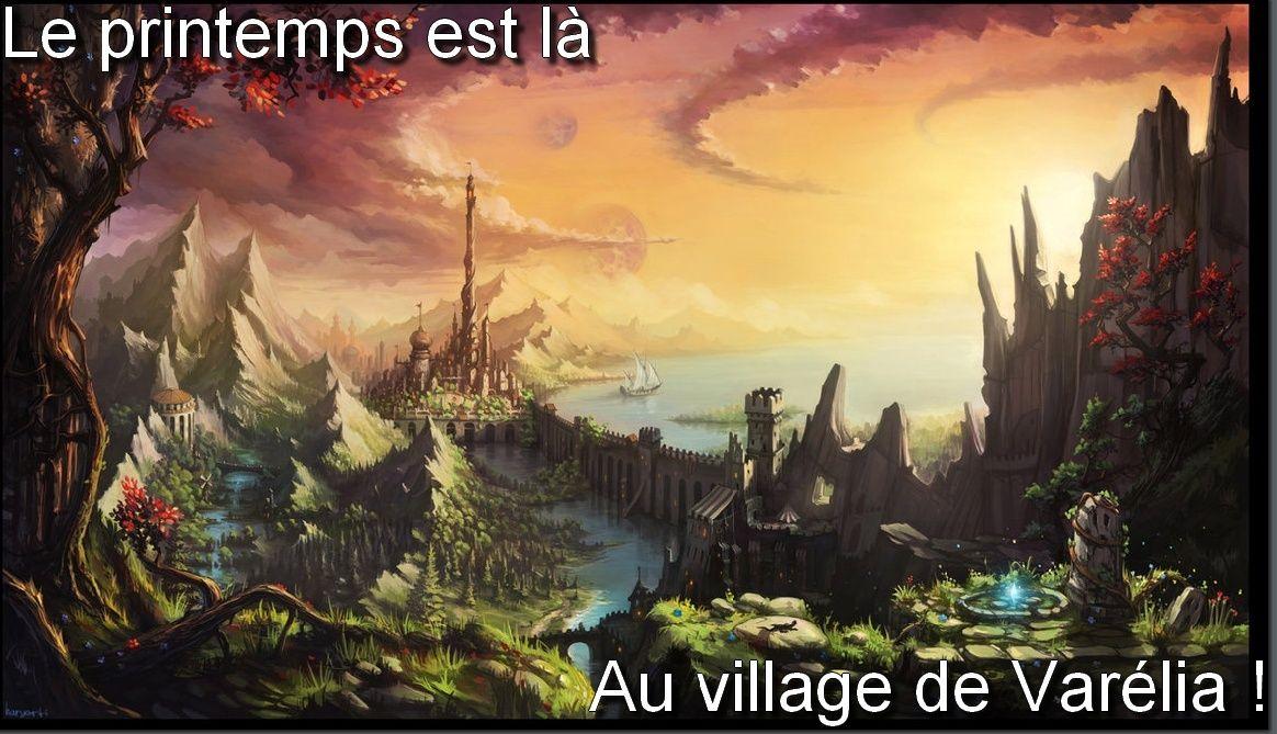 Le village de Varélia