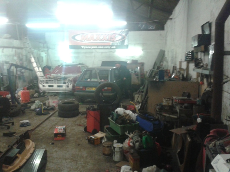 spot the vw in the workshop 20150466