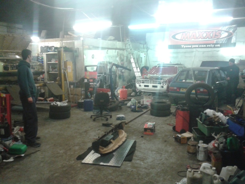 spot the vw in the workshop 20150467