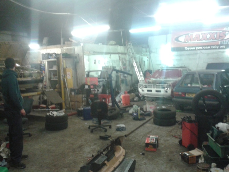 spot the vw in the workshop 20150468