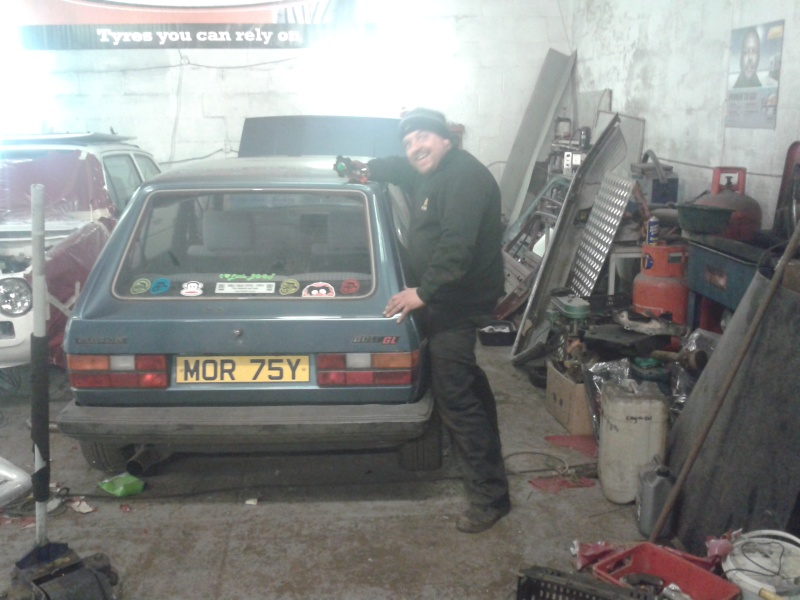 spot the vw in the workshop 20150469