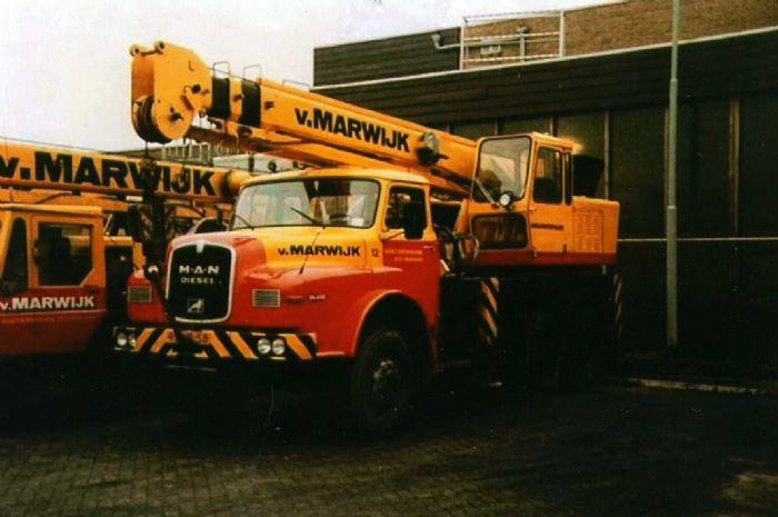 Les matériels anciens de VAN MARWIJK 73490710