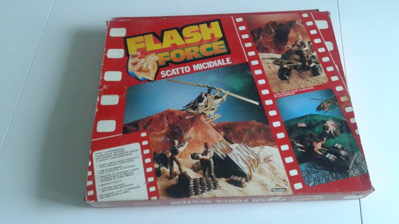 Flash Force Scatto Micidiale In box 20150327