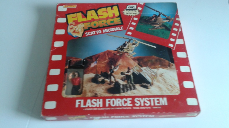 Flash Force Scatto Micidiale In box 20150328