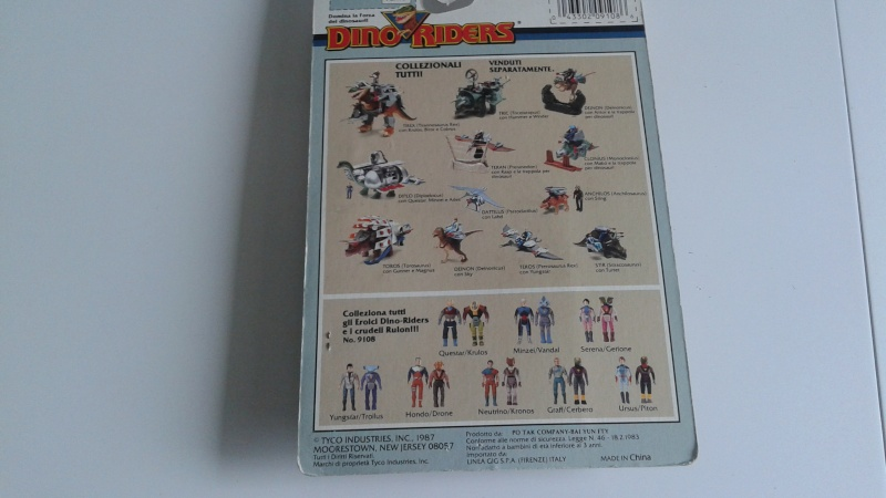Dino Raiders - Vandakl e Minzei in box 20150334