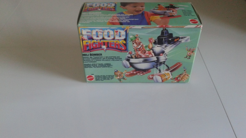food - Heli Bomber Food Fighters Nuovo In Box 20150412
