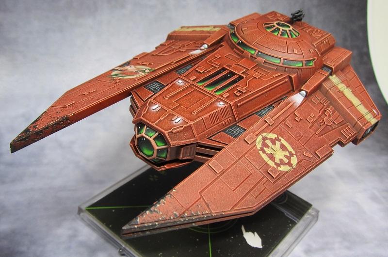 Overburns kleine Flotte Deci210