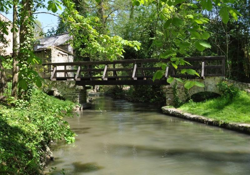 Cézanne... Pique nique au pont de Maincy Cezann10