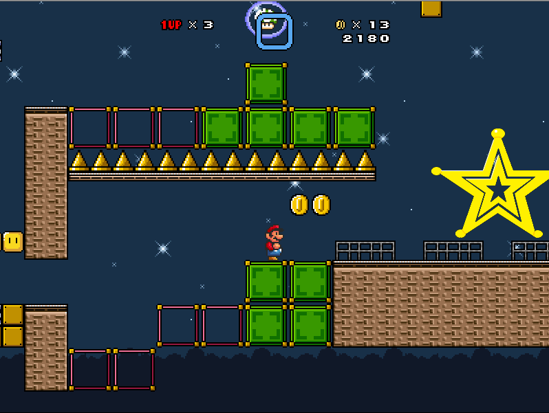 Super Mario Galaxy X: L'invasion des ténèbres - Page 4 Bloc10