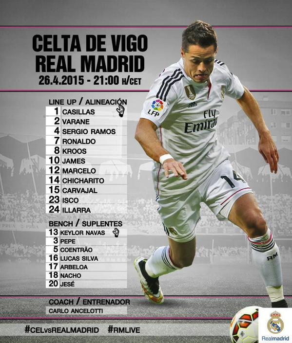 Celta Vigo vs Real Madrid Cdizp110