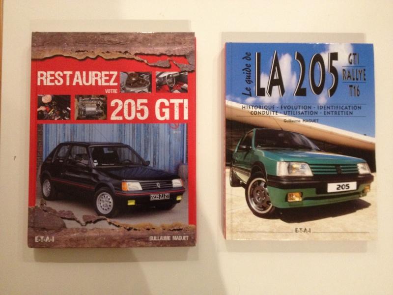 Restaurer votre 205 GTI / Le guide de la 205 Livres10